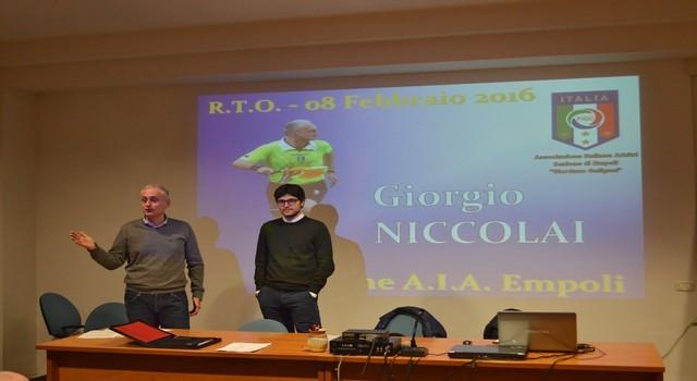GIORGIO NICCOLAI: IN CAMPO DOVETE DIVERTIRVI