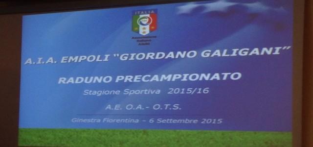 UN SUCCESSO IL RADUNO PRE-CAMPIONATO O.T.S. 2015/2016