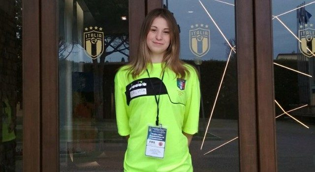ALESSIA LISI AL TALENT WOMEN REFEREE