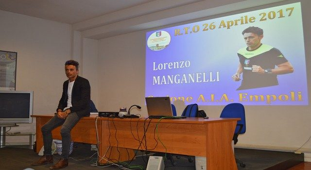 LA VISITA DELL'INTERNAZIONALE LORENZO MANGANELLI