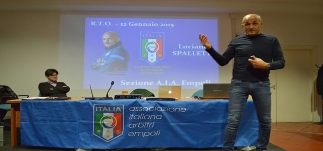 LUCIANO SPALLETTI: OCCHI APERTI E CERVELLO ACCESO